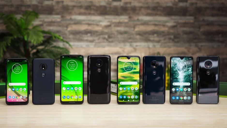 Moto G7 Plus vs Moto G7 vs Moto G7 Power vs G7 Play: battery life comparison