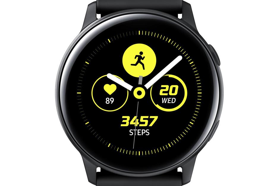 Samsung Galaxy Watch Active: sleek new design, big focus on fitness