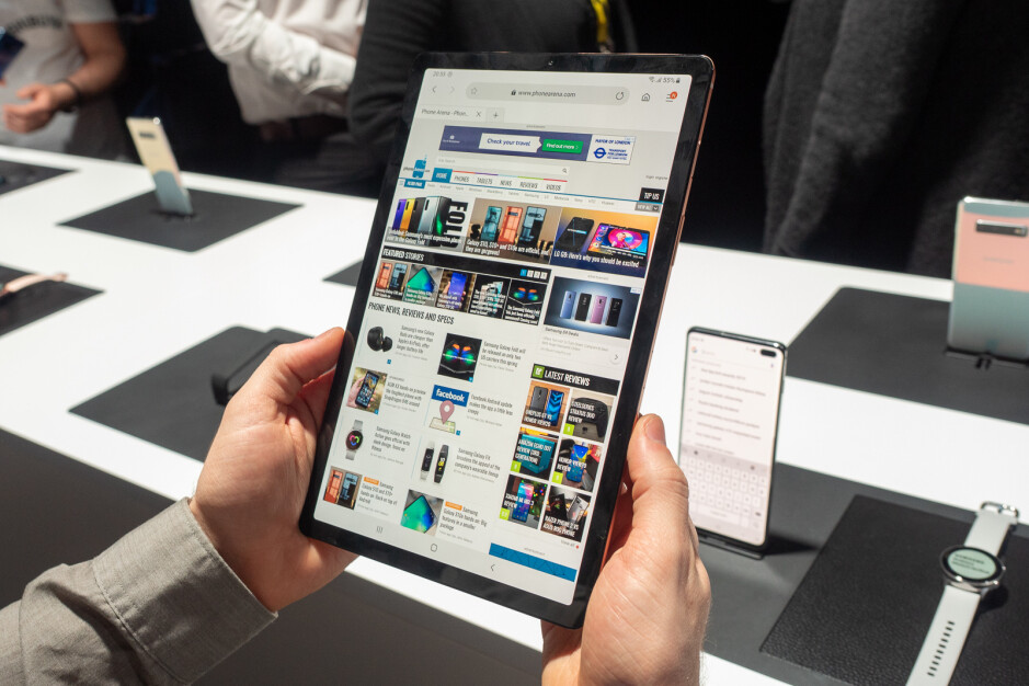 Samsung Galaxy Tab S5e hands-on: light and slim tablet for your everyday needs