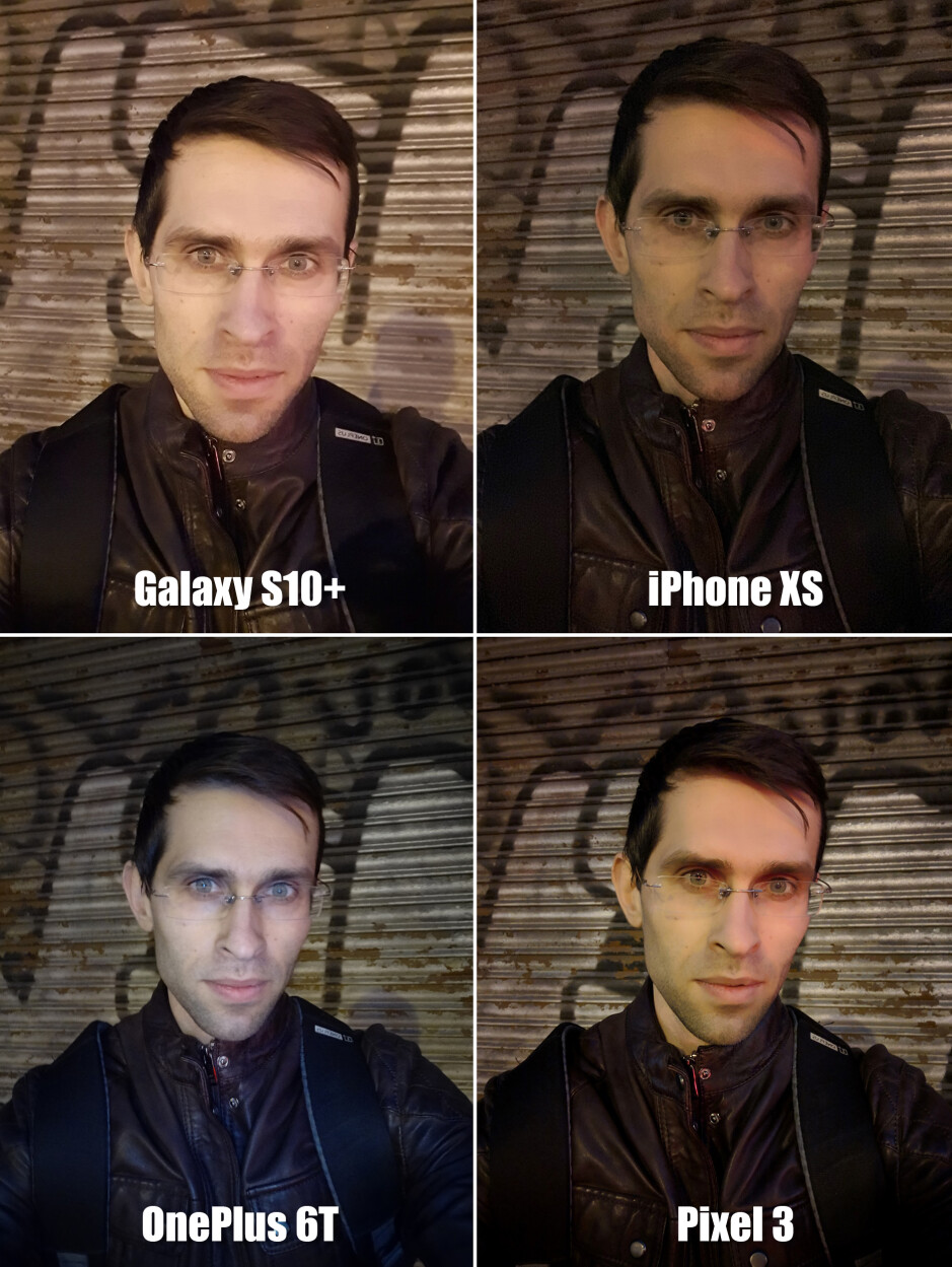 Selfie comparison: Galaxy S10+ vs iPhone XS, Pixel 3, OnePlus 6T