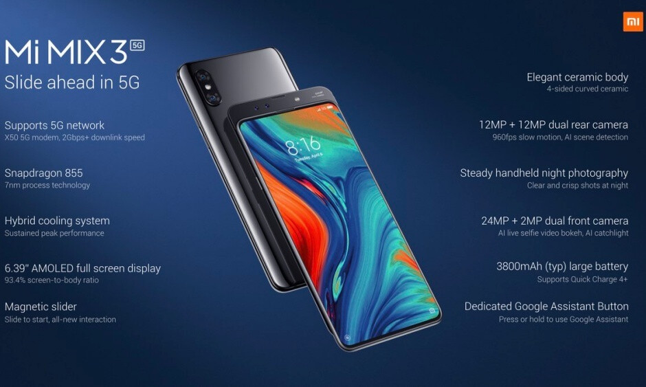 The Xiaomi Mi Mix 3 5G is here, and... it's not that expensive