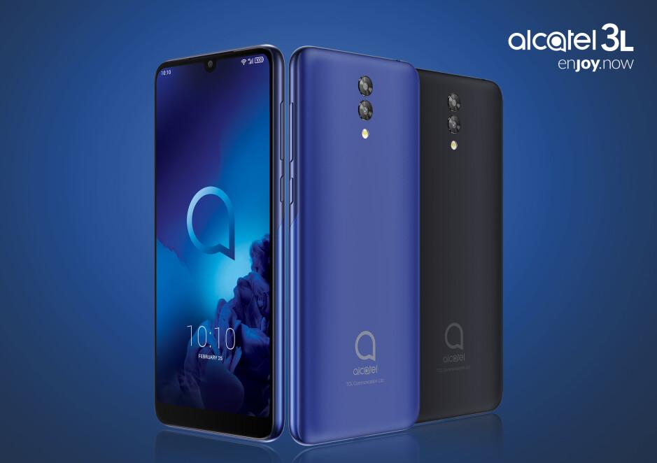 Alcatel 3/3L/3T 10 & Alcatel 1S: low prices, big displays, AI-enhanced cameras