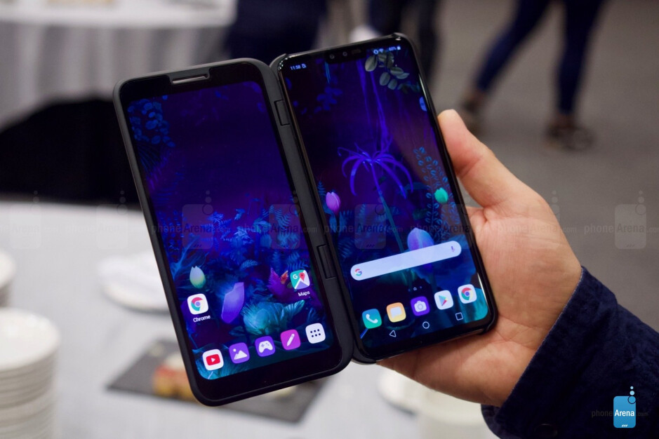 LG G8 vs LG V50: specs comparison between LG's latest flagships