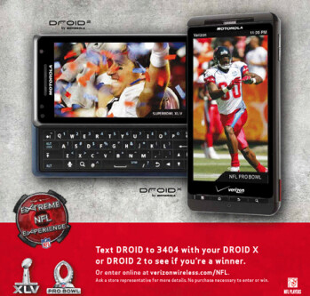 Win a trip to the Super Bowl or the Pro Bowl courtesy of Verizon Wireless