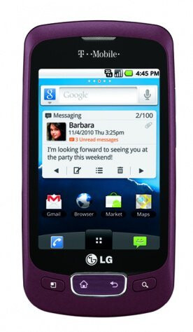 LG Optimus T for T-Mobile - LG Optimus T is priced super inexpensively at $29.99 & out by November 3rd