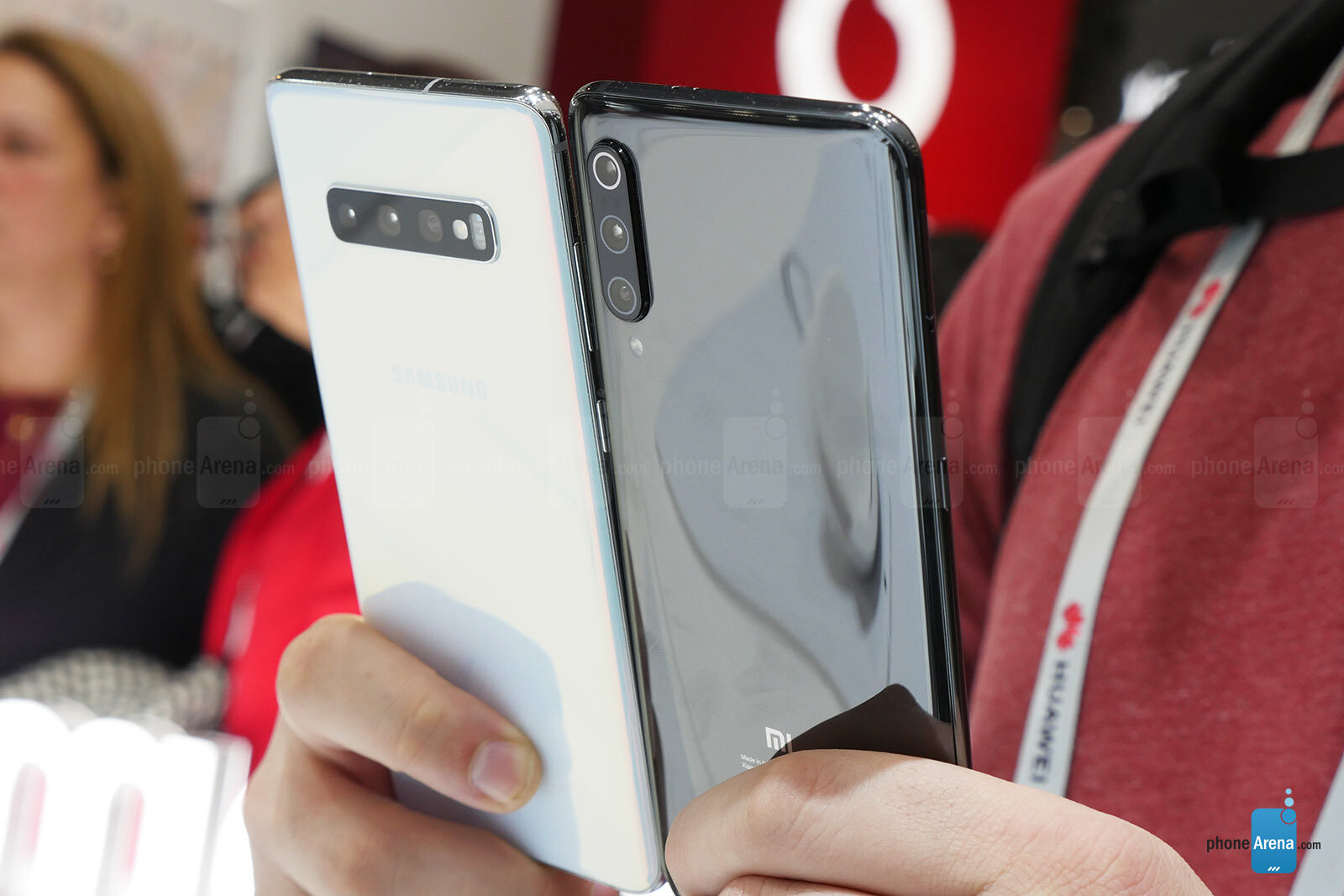 Samsung Galaxy S10+ vs Xiaomi Mi 9: A first look at the two