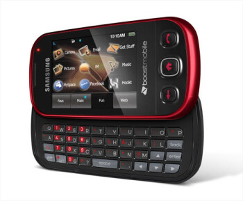 Red Samsung Seek for Boost Mobil