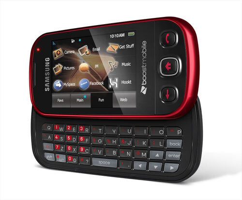 Red Samsung Seek for Boost Mobil - Best Buy has an exclusive grab on a red colored Samsung Seek for Boost Mobile