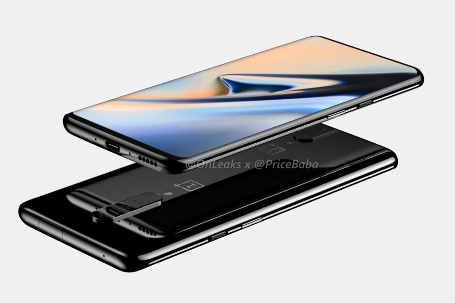 OnePlus 7 CAD-based render - OnePlus 7 Pro renders showcase design entirely, pop-out camera included
