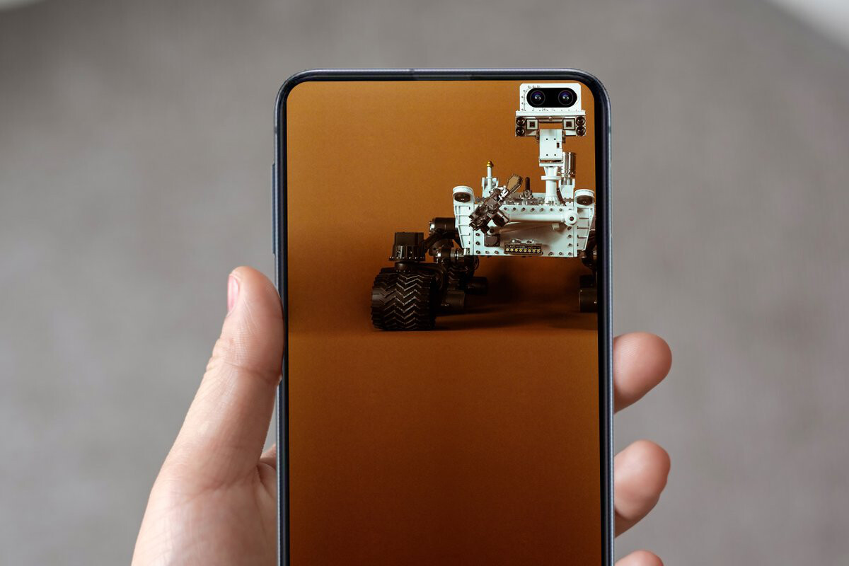 Looking For A Gallery Of Wallpapers That Hide The Galaxy S10