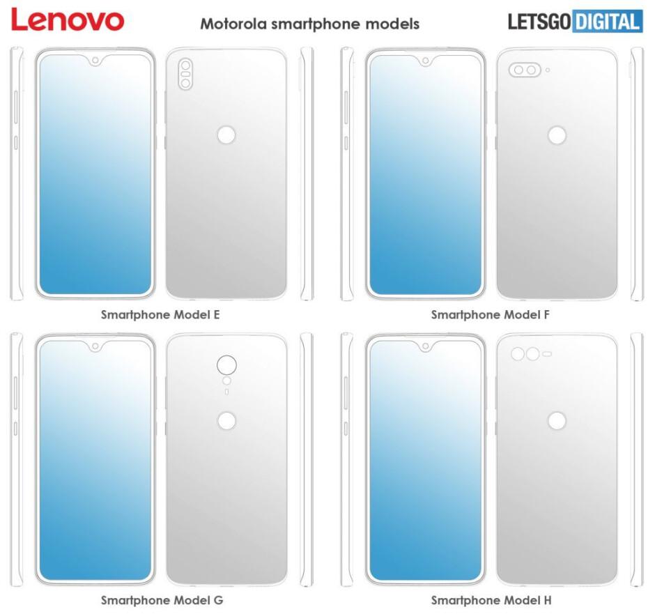 Motorola's smartphones could soon remove almost every bezel