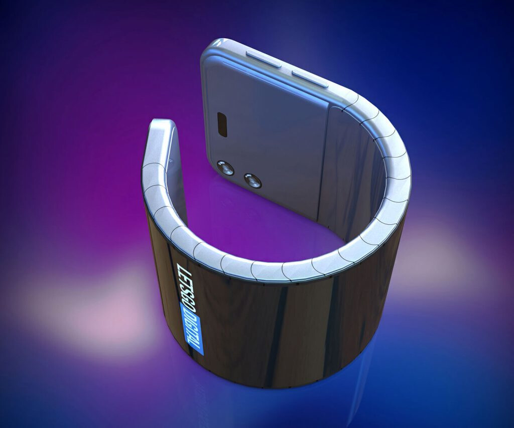 Image result for Samsung patents bendable phone that can be worn on your wrist