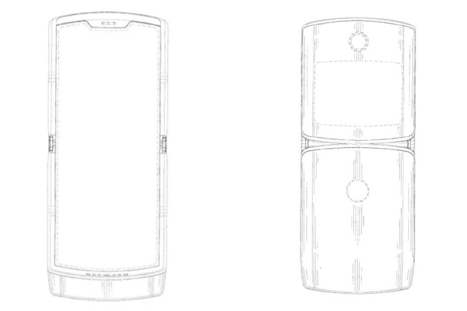Motorola Razr patent - Motorola's foldable Razr might not be the flagship everyone expected