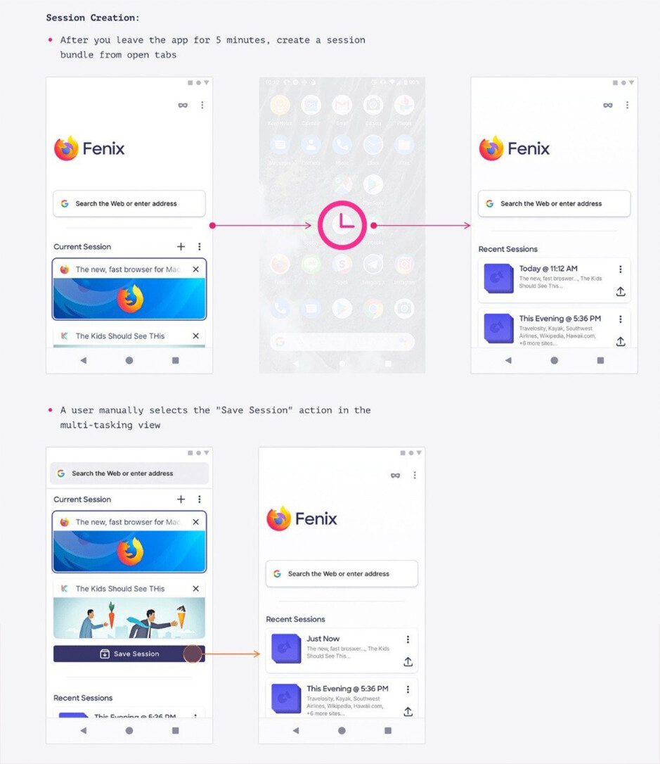 Mozilla's upcoming Fenix browser for Android - Share huge private files directly with Mozilla's encrypted Firefox Send app for Android, up to 2.5GB in size