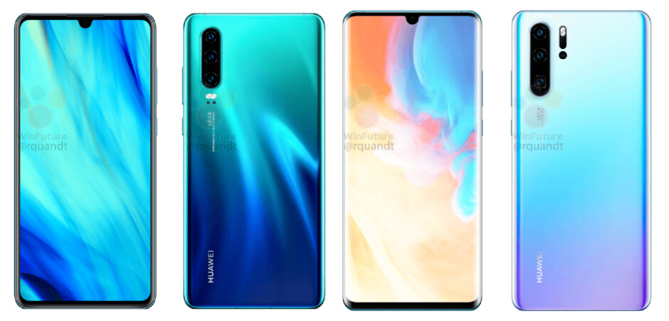 The Huawei P30 & P30 Pro have just been detailed entirely, cameras included