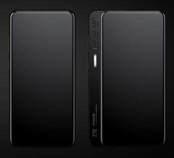 The ZTE Axon S uses a side sliding panel to house its cameras