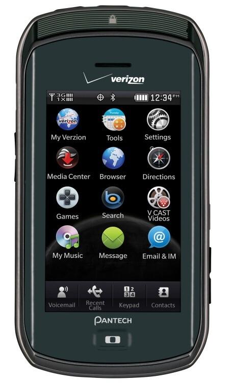 Pantech Crux for Verizon Wireless - Verizon officially announces the $49.99 on-contract Pantech Crux