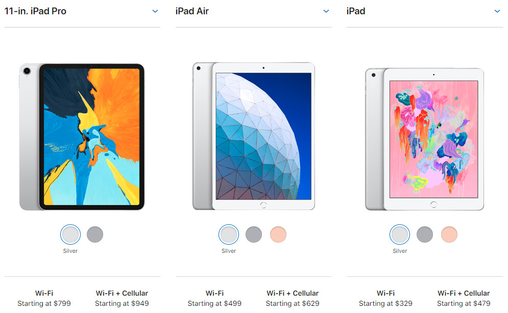 New iPad Air vs iPad 9 7 vs iPad Pro: what's the difference