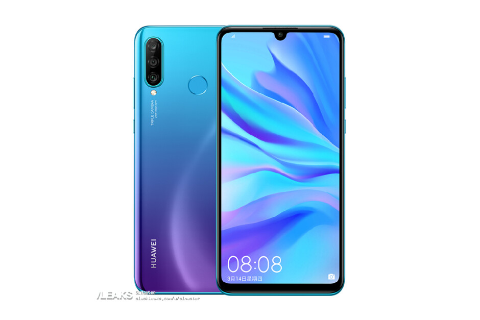 Huawei P30 Lite leaked renders - Alleged Huawei P30, P30 Pro, and P30 Lite official prices leak