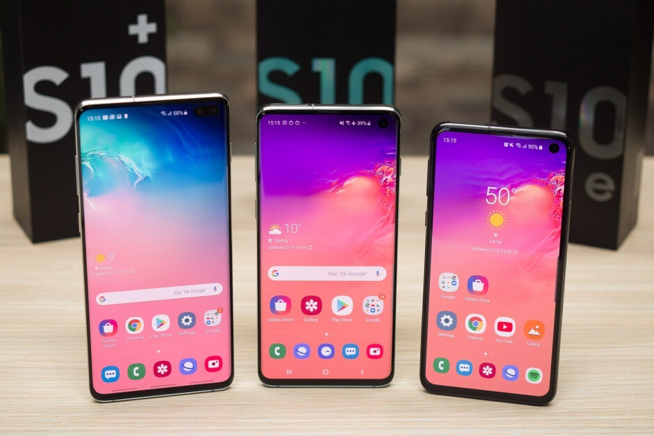 You may want to be extra-careful not to break any of those beautiful screens - Clumsy Galaxy S10 buyers should remember to add Premium Care during checkout