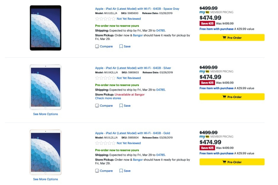 You can already save a few bucks on Apple's new iPad Air and iPad mini at Best Buy