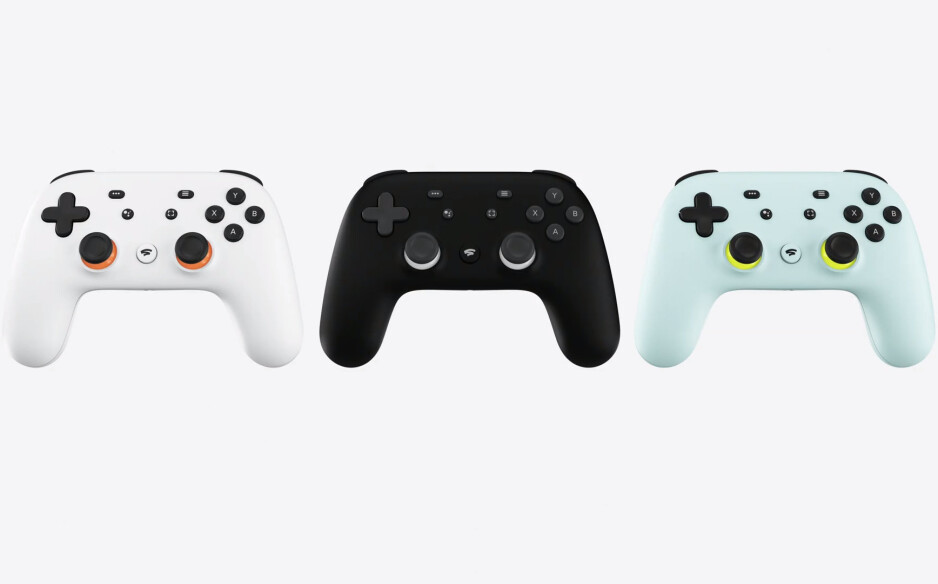 The Stadia controller - Google's new Stadia service allows users to play video games on the go (yes, on smartphones)