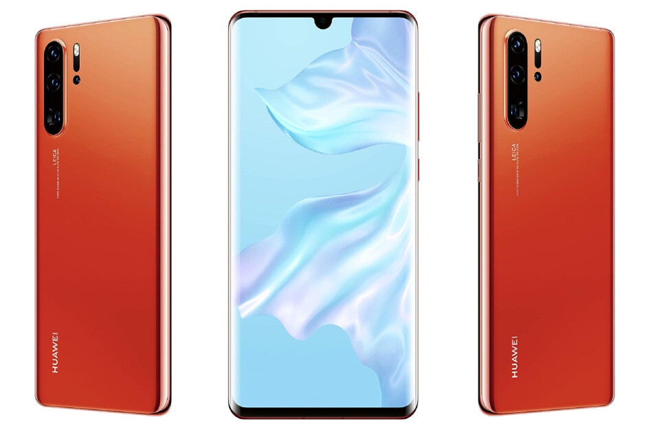Huawei P30 Pro in Sunrise finish - Alleged Huawei P30, P30 Pro, and P30 Lite official prices leak