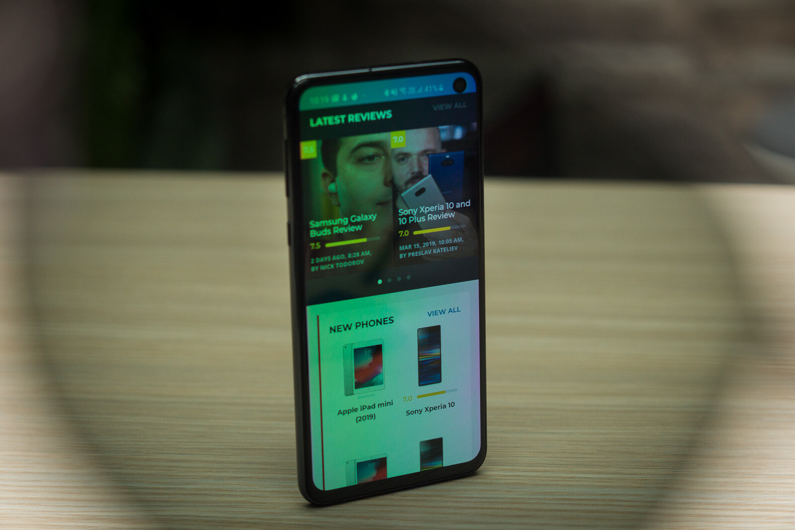 Got a Galaxy S10? You'll find out that    no LED notification, but