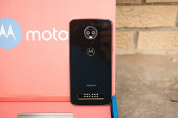 The Moto Z3 has two rear-facing cameras