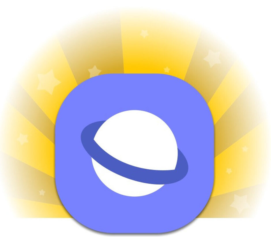 Samsung Internet Browser's new icon - Samsung brings One UI goodness and enhanced dark mode to its mobile browser