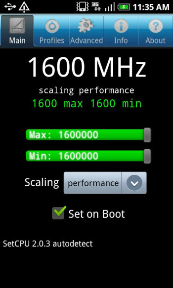 Hummingbird on steroids - Samsung Vibrant overclocked to 1.6 stable GHz