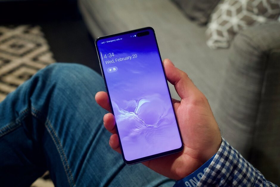 Samsung's Galaxy S10 5G launches next month, but you can't have it
