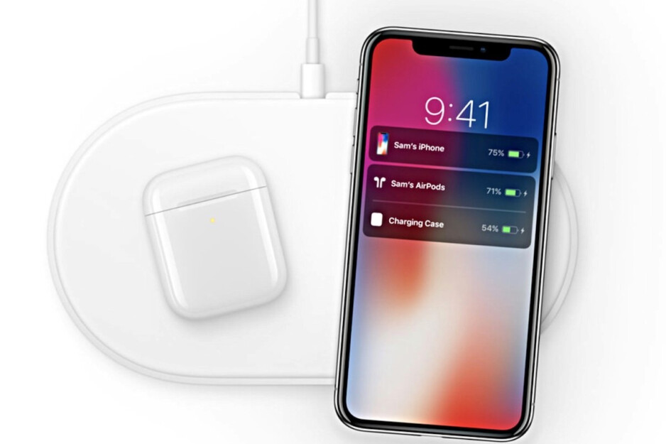The original Apple AirPower marketing image - New AirPower image with iPhone XS and AirPods found on Apple's website