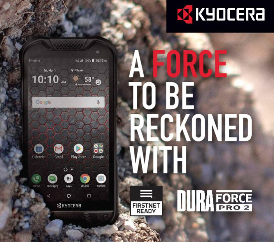 Military-grade rugged Kyocera DuraForce PRO 2 arrives at AT&T