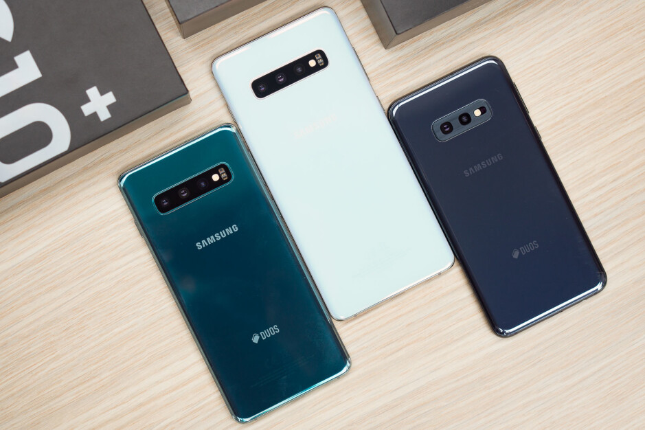 Samsung's Galaxy S10 series is powered by the speedier Snapdragon 855 - Samsung Galaxy A90 tipped to sport huge display and powerful processor