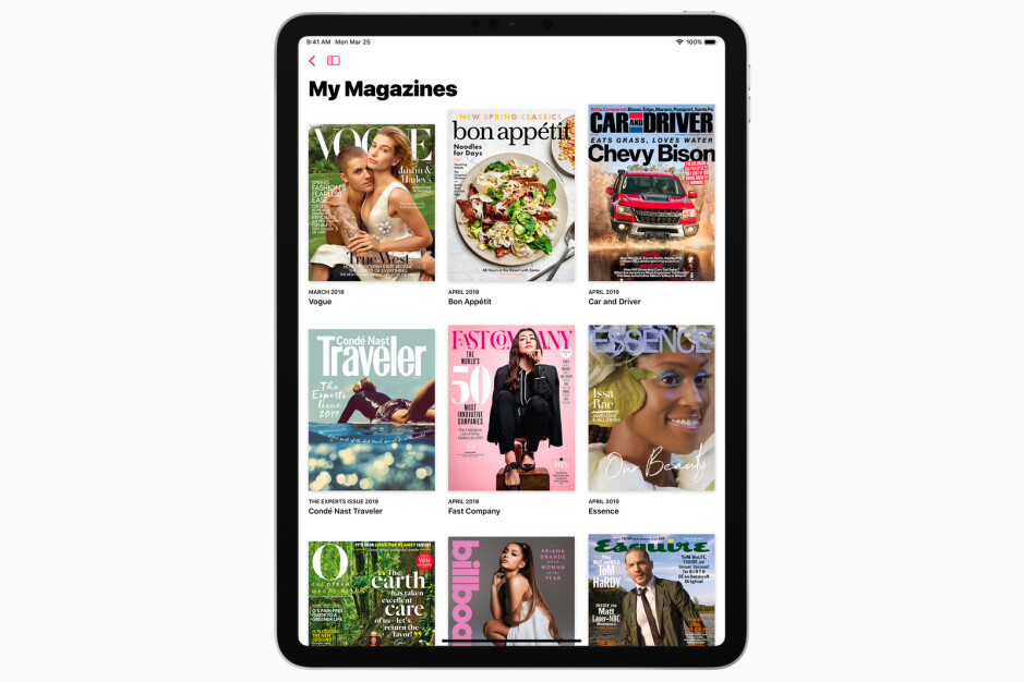 Apple News+ subscription service is announced with 300+ magazines to flip through