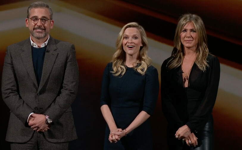 Reese Witherspoon, Jennifer Anniston and Steve Carell will be on the new Apple Morning Show - Apple TV+ release date, price and shows at launch (free with iPhone or iPad)