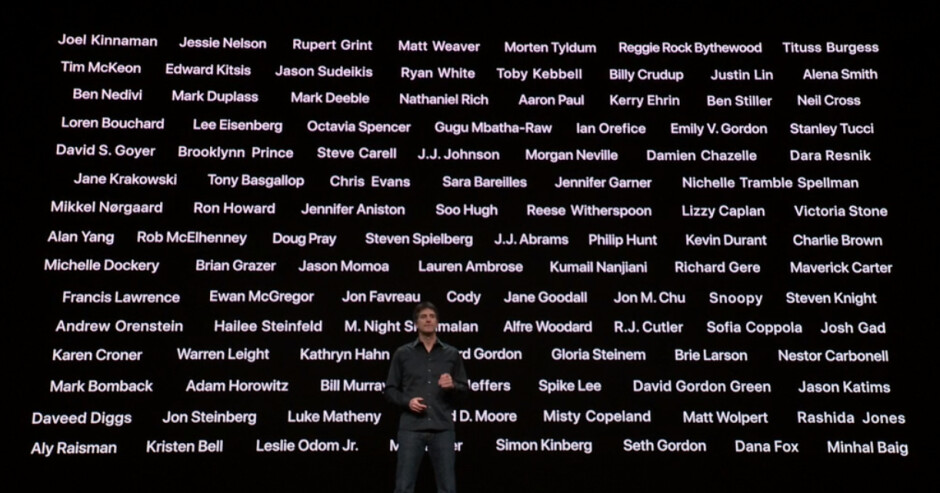 Apple's TV+ roster is nothing to sneeze at - Apple paying up to $15 million per TV+ episode in a Hollywood shakedown of Netflix wannabes
