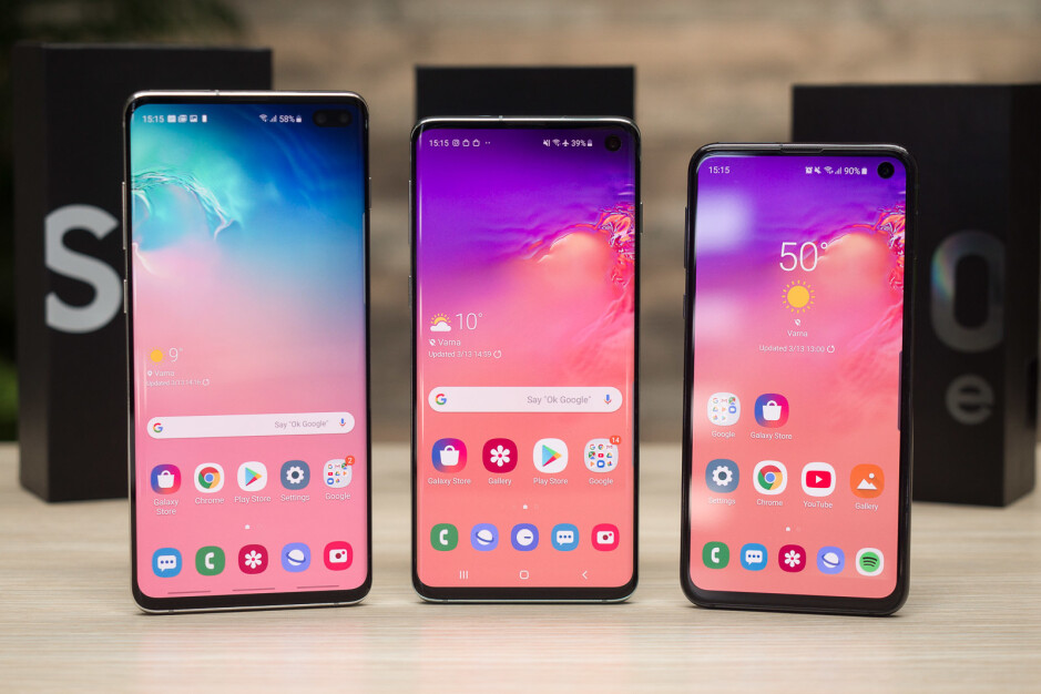 The Samsung Galaxy S10 series - The Galaxy S10 is hugely outperforming the Galaxy S9 in yet another market