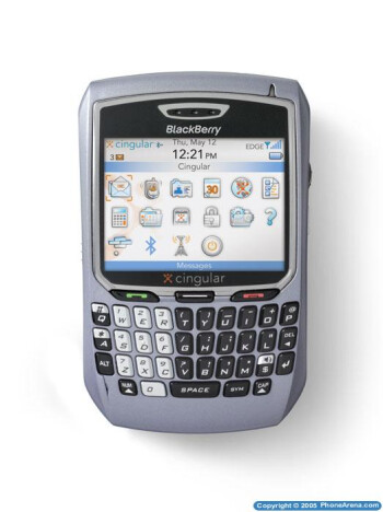 Blackberry 8700c officially announced