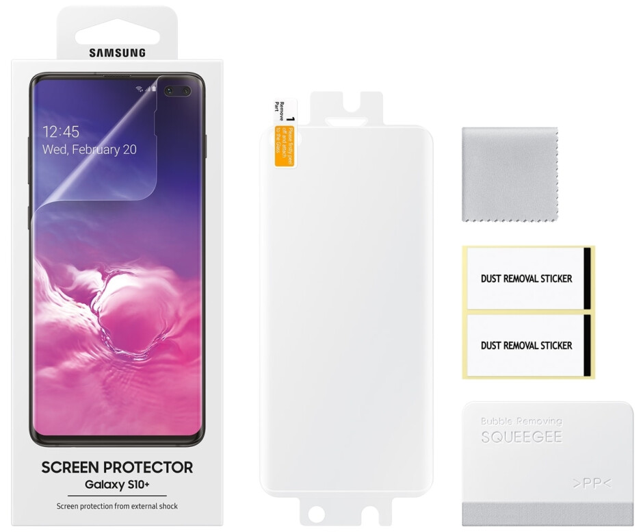 Official Samsung Galaxy S10 screen protectors now available to buy in the US (they're cheaper than expected)