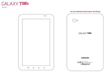 Wi-Fi only Samsung Galaxy Tab meets the FCC