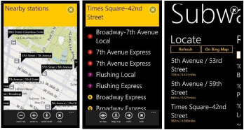 'New York Subway' app arrives for WP7