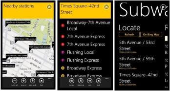 'New York Subway' app arrives for WP7