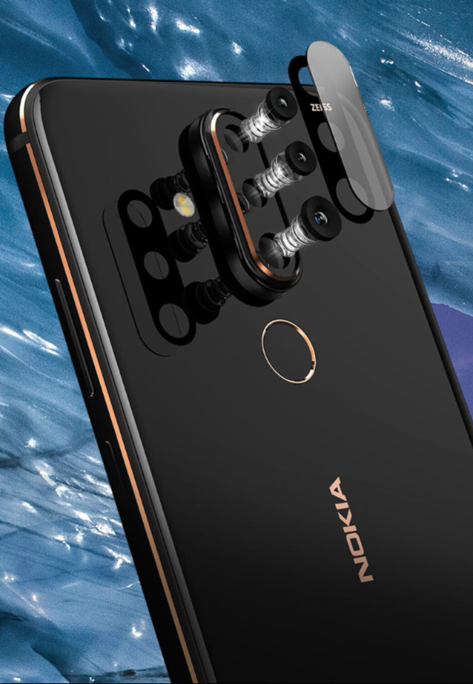 The Nokia X71's ZEISS-branded cameras - Meet the Nokia X71, a triple-camera smartphone that also has a display hole