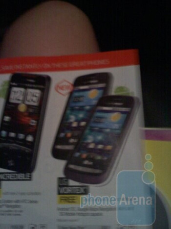 LG Cosmo Touch, LG Optimus S, and the LG Vortex in Best Buy's November Buyer's Guide