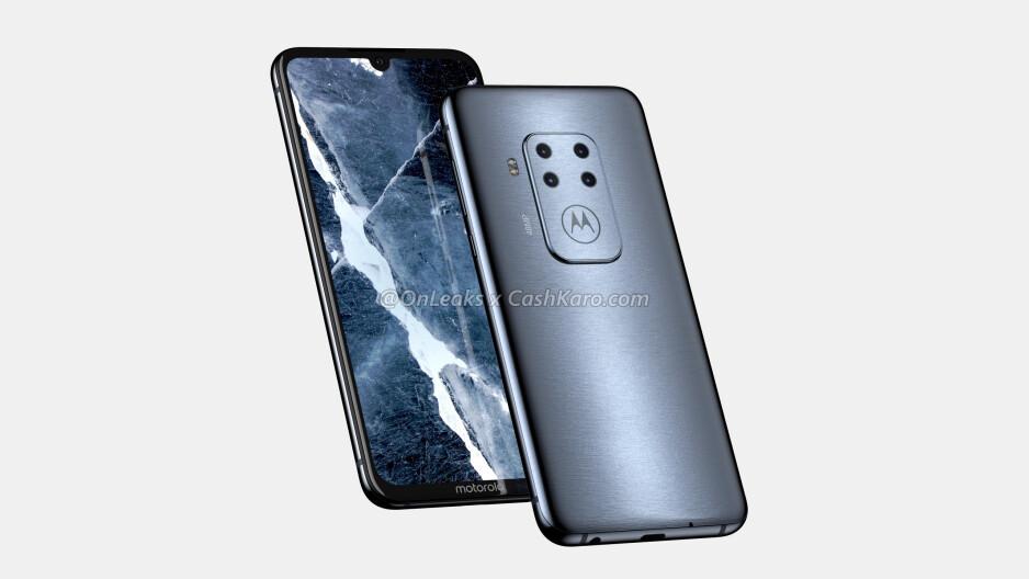 Motorola's preparing an insane looking quadruple-camera smartphone