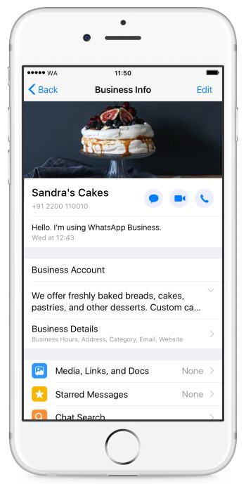 WhatsApp Business lançando oficialmente para o iPhone em vários países