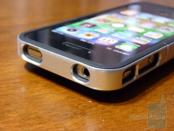The Mophie Juice Air Pack adds some additional bulk to the handset
