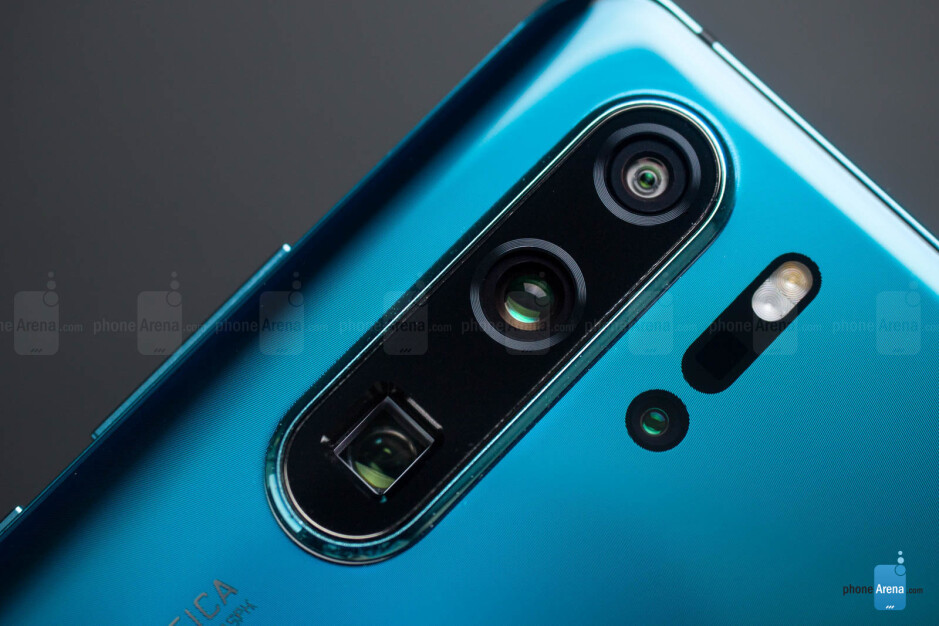 Huawei's P30 Pro has four cameras on its back - Samsung and Huawei significantly outspend Apple on camera components
